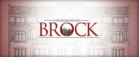 Condominiums <span>Brock</span>